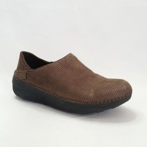 FitFlop Loafers Size 5 Brown Suede Comfort S10-20